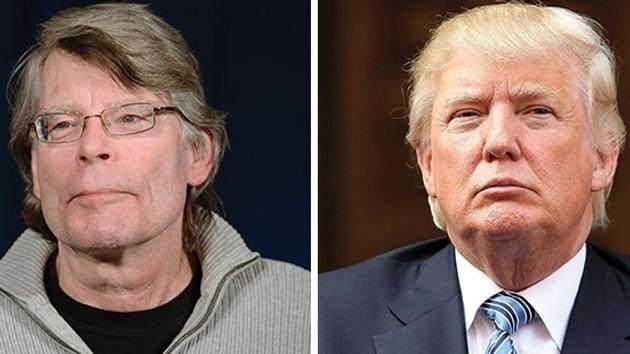 Trump Stephen King'i engelledi!