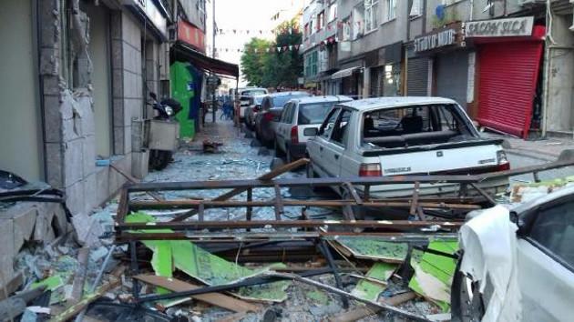 Bakırköy'de korkutan patlama: 1 yaralı