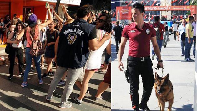 Taksim'de LGBTİ yürüyüşüne polis müdahalesi; 44 gözaltı
