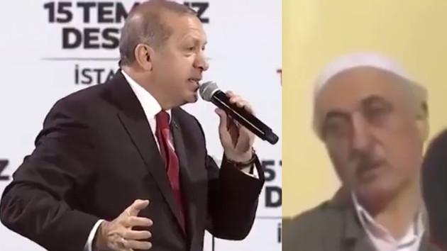 Erdoğan tankın borusu deyince Fetullah Gülen..