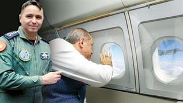 Erdoğan'ı selamlayan pilot bakın kim çıktı!