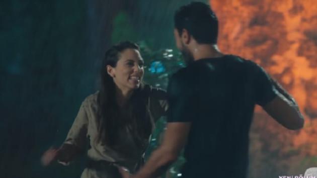 Kalp Atışı'nın 4. bölüm fragmanında romantik yağmur dansı