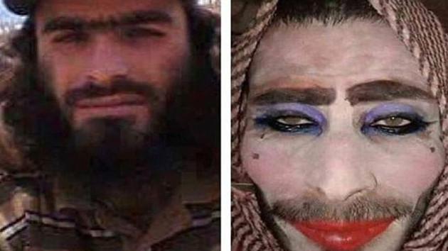 IŞİD teröristleri kadın kılığında yakalandılar!