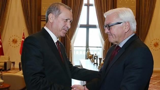 Almanya Cumhurbaşkanı: Türkiye'ye karşı yaptırımları destekliyorum, Dur demek saygı meselesi