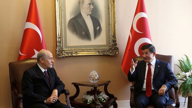 MHP ile Davutoğlu'nun kavgasına AKP de katıldı