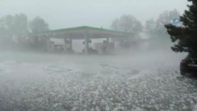 Son dakika haberleri: İBB'den dolu açıklaması: İstanbul'da metrekareye 20 dakikada 40 kilo yağış