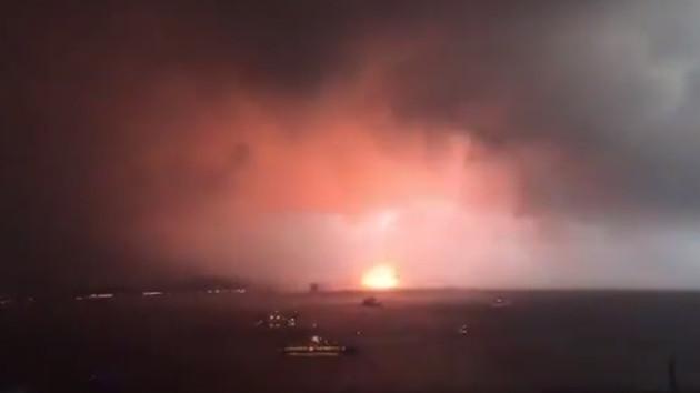 Haydarpaşa'da patlama! Görüntüler dehşete düşürdü