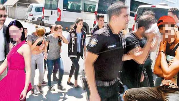 İstanbul sosyetesine dev uyuşturucu operasyonu: Mankenler gözaltına alındı