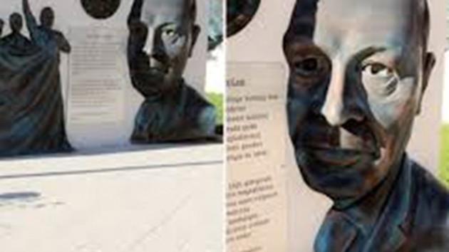 Erdoğan, heykelinin dikilmesine tepkili: Duyunca çok üzüldüm, hemen kaldırttık