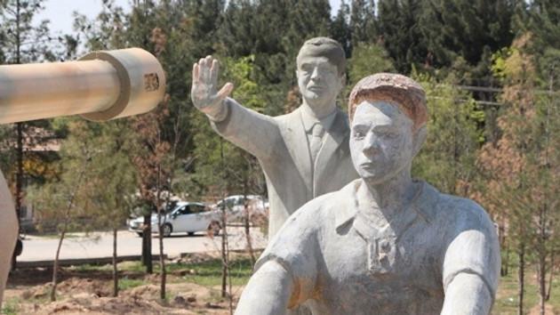 Harran'daki 15 Temmuz Anıtı'ndan Erdoğan heykeli kaldırıldı