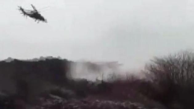Ağrı'da helikopterli operasyon.. 5 terörist etkisiz hale getirildi