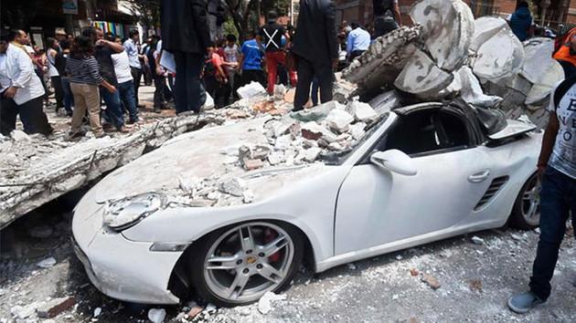 Son dakika: Meksika'da ölü sayısı artıyor: Deprem anı görüntüleri korkunç