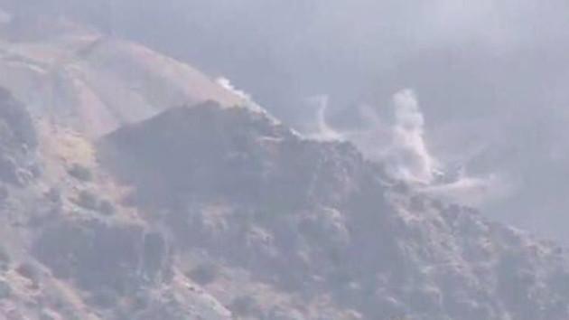 Barzani'ye referandum öncesi şok! İran'dan Erbil'in dağlık bölgesini bombalıyor
