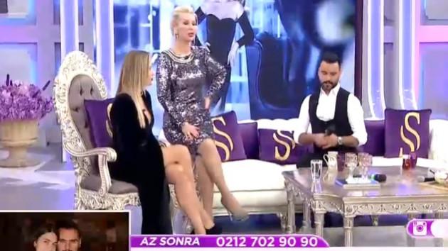Ivana Sert'in bacak dekoltesini gören Alişan'ın zor anları