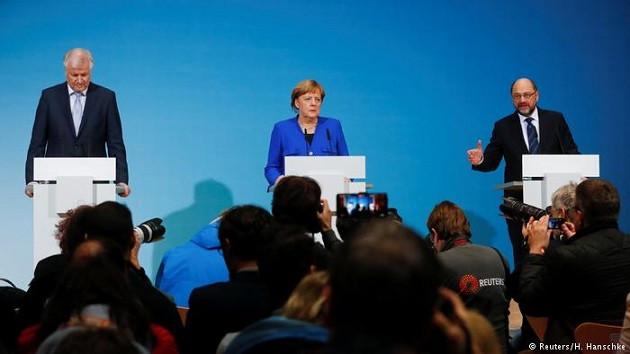 Berlin'de yeni hükümet için ilk adım