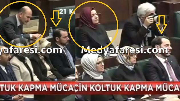 Fatma Betül Sayan Kaya koltuğu kaptı, Süleyman Soylu AKP grup toplantısına gelmedi