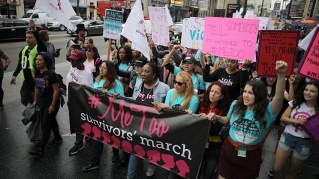 Hollywood kadınları tacize karşı harekete geçti!
