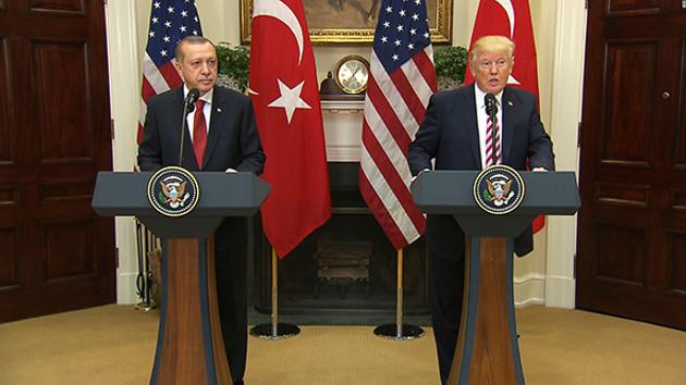 Erdoğan ve Trump'tan flaş telefon görüşmesi