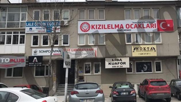 Kızılelma Ocakları Ankara'da tabela astı