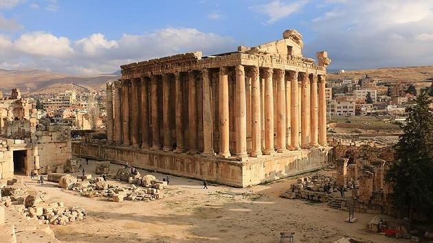 Dünyanın en görkemli tapınak şehri Baalbek