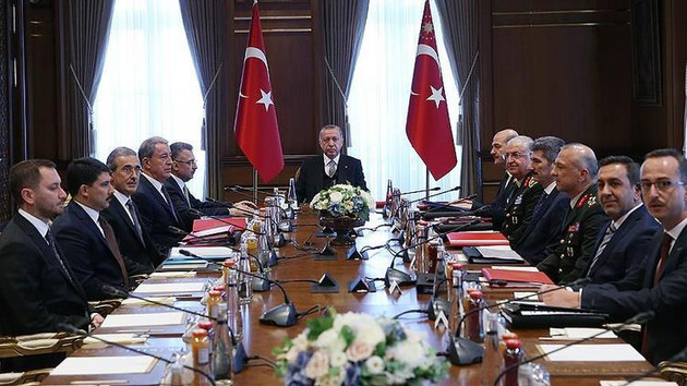 Erdoğan'ın başkanlığındaki kritik toplantıda önemli kararlar alındı