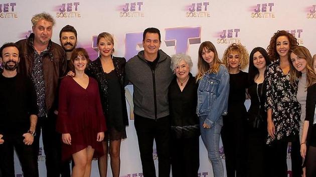 Jet Sosyete ekibi yeni sezonun ilk bölümünü birlikte izledi