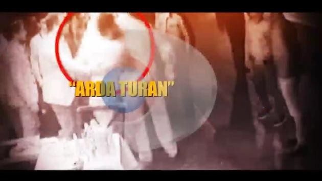 Arda Turan Berkay Şahin kavgasının görüntüleri ortaya çıktı