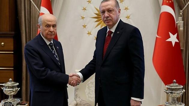 Son dakika: Erdoğan ile Bahçeli arasında kritik görüşme