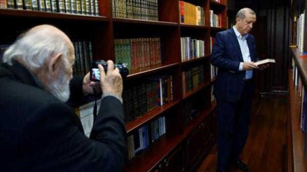 Erdoğan'dan Ara Güler'in ailesine başsağlığı telefonu