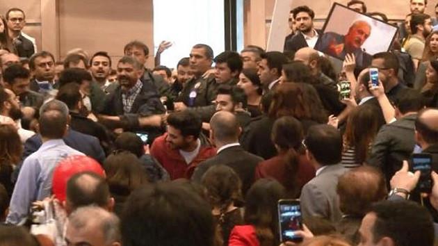 İstanbul Barosu başkanlığı seçiminde kavga!