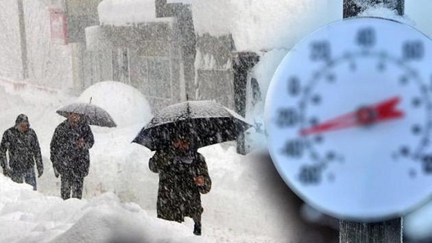 Kar, sulu kar, yağmur! Meteoroloji'den son tahminler