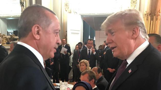 Erdoğan ve Trump akşam yemeğinde görüştü
