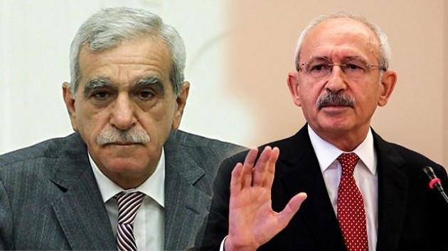 CHP'den Ahmet Türk ile görüşme açıklaması