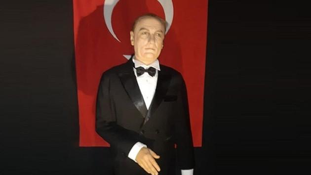Atatürk'e benzemeyen heykel için açıklama: Yalova'daki heykelin aynısı