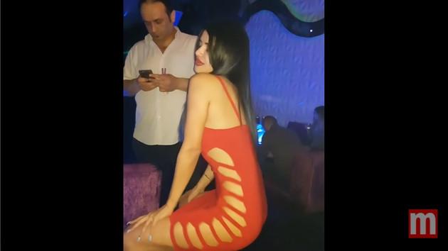 Naz Mila'nın iç çamaşırsız dans videosu olay oldu