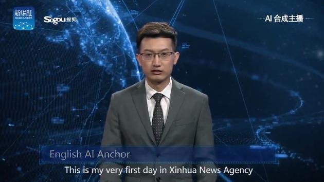 Çinli bilim insanlarından yapay zekalı haber sunucusu