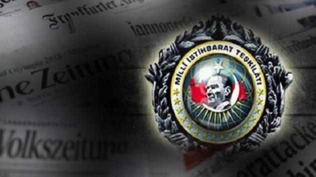 Alman hükümetinde MİT endişesi: Devlet kurumlarına sızabilir