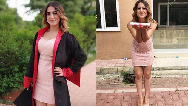 21 yaşındaki Selvinaz'ın motosikletine kamyon çarptı