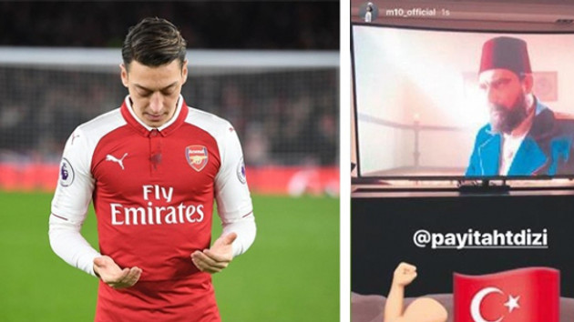 Mesut Özil'in Payitaht Abdülhamid paylaşımları olay oldu