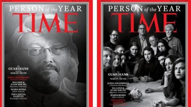 Time dergisi Cemal Kaşıkçı'yı Yılın Kişisi seçti