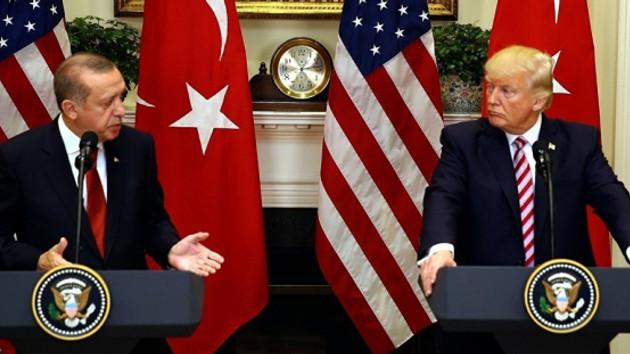 Son dakika: Cumhurbaşkanı Erdoğan Trump ile görüştü