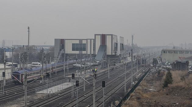 Hızlı tren kazasının yaşandığı hat yeniden kullanıma açıldı
