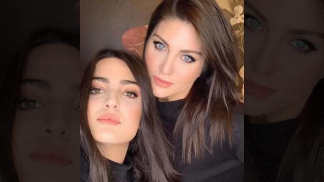 Sibel Can photoshop ve filtreyi abarttı: Kızından küçük görünüyor