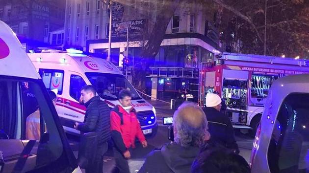 Ankara'da korkutan doğalgaz patlaması: 7 yaralı