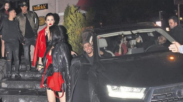 Fenerbahçeli yıldız 3 güzelle yakalandı!
