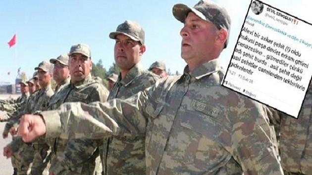 Tepki çeken tweet: Kerem Kılıçdaroğlu Afrin'e gitsin, ölürse şehit olmaz, çünkü Alevi!