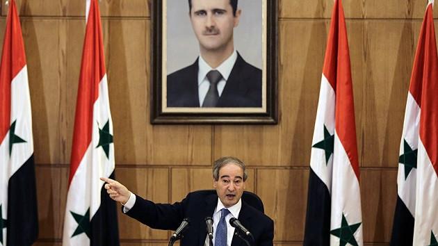 Faysal Mikdad: Araplar ile Kürtler birlik olup Türk güçlerine dirensin
