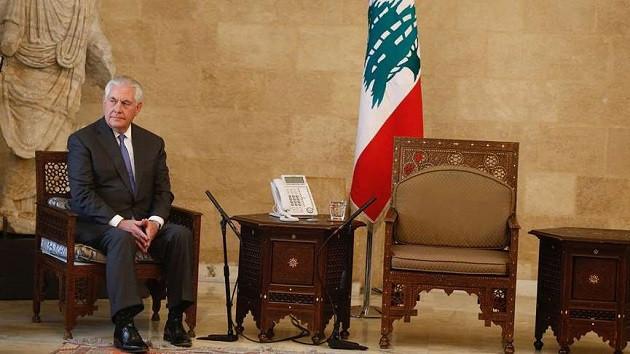 Tillerson'a Lübnan'da büyük şok! Dakikalarca bekledi