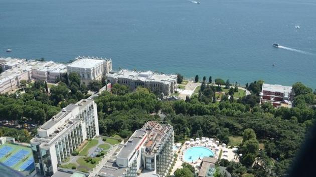 Swiss Otel, Dolmabahçe'de ağaç katliamı istedi