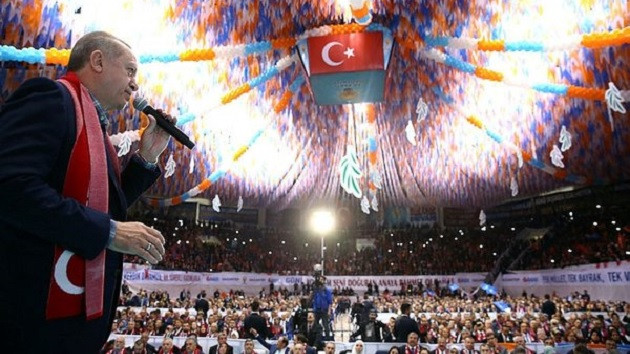 Erdoğan: Sefer görevi emri çıktığında hep birlikte yola çıkacağız